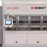 Bobst presenta la nueva metalizadora al vacío de alto rendimiento K5 Vision