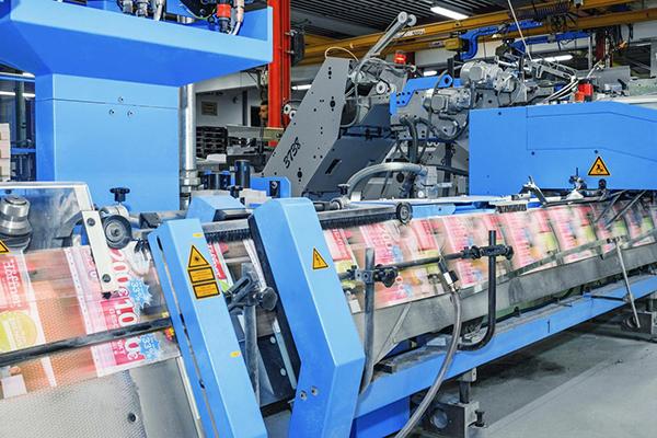 Oberdorfer Druckerei actualiza sus capacidades de acabado en impresión industrial con la engrapadora de mesa Tempo 220 de Müller Martini