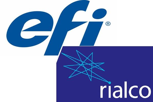 EFI adquiere Rialco Limited, desarrollador de sistemas de tintas y colores