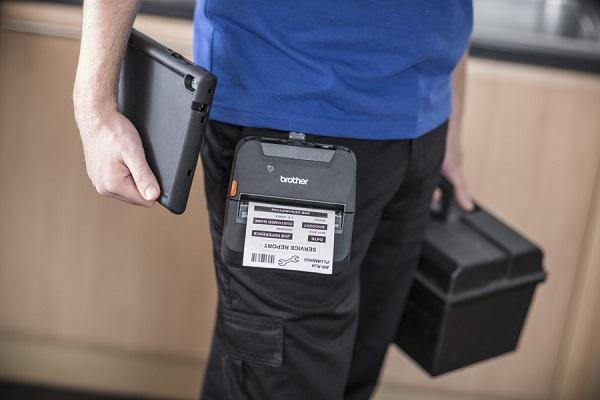 Brother lanza dos impresoras térmicas portátiles para etiquetas con conectividad inalámbrica: RJ-4230B y RJ-4250WB