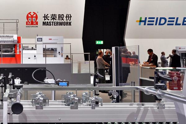 Heidelberg intensifica sus actividades en el mercado de envases en alianza con Masterwork Group
