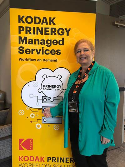 Kodak celebró el 20 aniversario de Prinergy en la conferencia de GUA