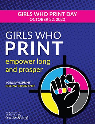 #GirlsWhoPrint Day